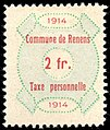 Switzerland Renens 1914 revenue 6 2Fr - 33.jpg