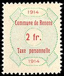 Switzerland Renens 1914 revenue 6 2Fr - 33.jpg