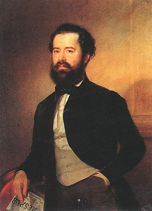 Battle of Temesvár - Prime Minister Bertalan Szemere