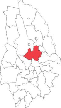 Aksbjerges landskommune i Örebro amt
