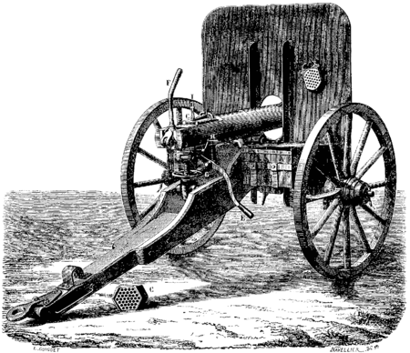 canon porte blindée
