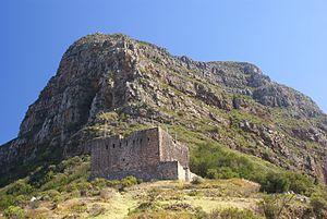 Fortifications of the Cape Peninsula - King's Blockhouse on Devil's Peak