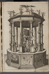 Frontispiece of the Tabulae Rudolphinae