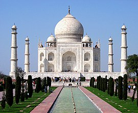 The Taj Mahal in Agra is India's most popular tourist destination.