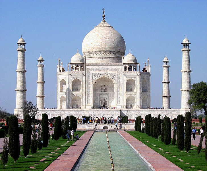 Fil:Taj Mahal in March 2004.jpg