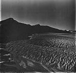 Taku Glacier, tidewater glacier terminus and braided stream, August 31, 1977 (GLACIERS 6233).jpg