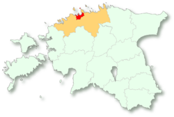 Location of タリン