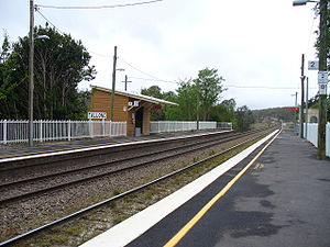 Tallong, New South Wales - Tallong Railway Station, which opened in 1869