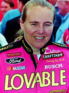 Tammy Jo Kirk American stock car racing driver and motorcycle racer