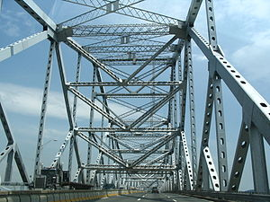 New Tappan Zee Bridge - The original Tappan Zee Bridge, built in a period of material shortages during the Korean War