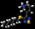 Tazomeline molecule ball.png