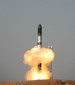 Dnepr (rocket) - Image: Tdx launch