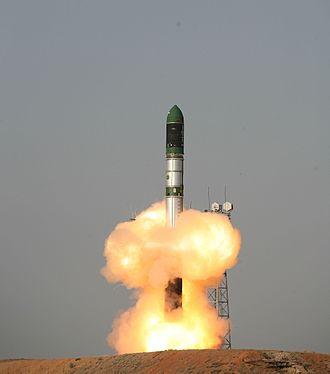 Dnepr (rocket) - Image: Tdx launch
