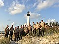 Team 1's last day at Bill Baggs Cape Florida State Park. They head to St. Augustine today and will be on the way home tomorrow. They will leave equipment for Team 2 which leaves Friday to head to Florida. (37196150782).jpg