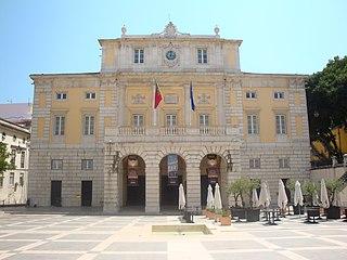 Teatro Nacional de São Carlos opera house in Lisbon, Portugal