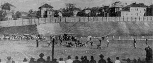 1916 Cumberland vs. Georgia Tech football game - The game in action