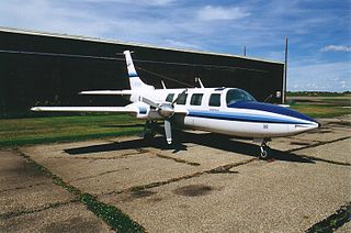 Piper Aerostar light transport aircraft