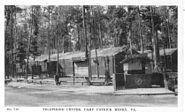 Telephone Center, Camp Patrick Henry, VA
