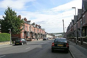 Leeds Blitz - Tempest Road, where Harrison was sheltering during the raid