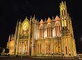 Templo Expiatorio de noche en la Ciudad de León, Guanajuato.jpg