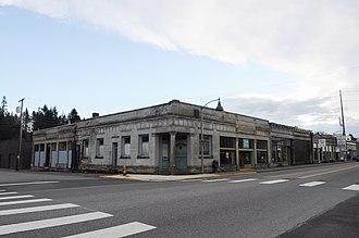 Tenino, Washington - Image: Tenino, WA Campbell & Campbell Building 01