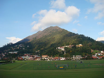 Granja Comary complex is the training camp of the national team. Teresopolis-Comary1.jpg