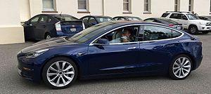 Tesla Model 3 - Tesla Model 3 prototype