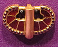 Tesoro di principe gepidico di apahida (1969), testa di cintura, 450-500 ca. 01.JPG