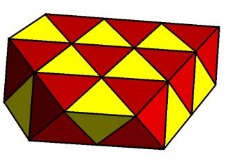 Honeycomb (geometry) - Image: Tetroctahedric semicheck
