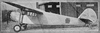 Thaden T-4 - Image: Thaden T 4A left side Aero Digest May,1930
