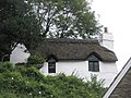 Thatched cottage above the Memorial Hall at Lynmouth - geograph.org.uk - 939694.jpg
