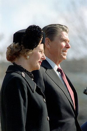 Thatcherism - Thatcher and President Reagan, 26 February 1981