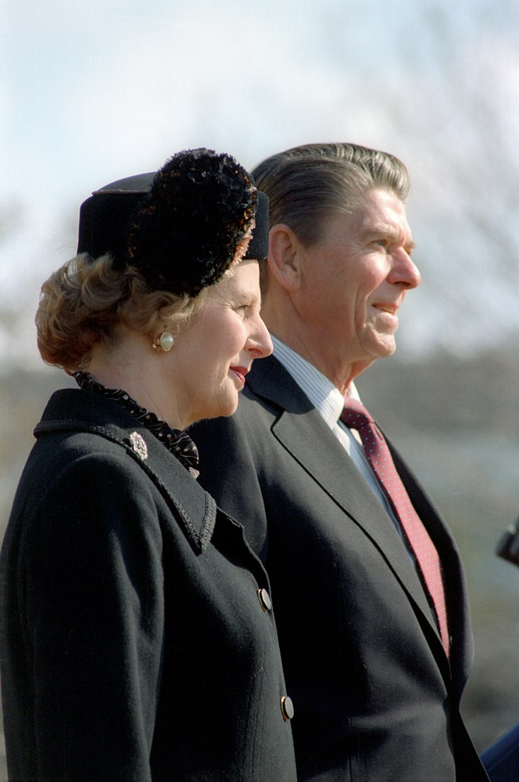 Thatcher - Reagan c872-9
