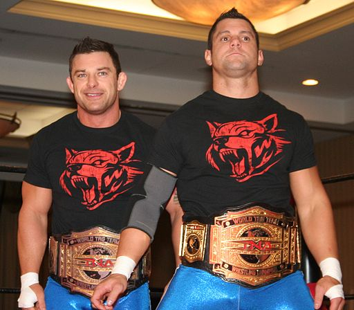 The American Wolves TNA Tag Team Champions Aug 2014