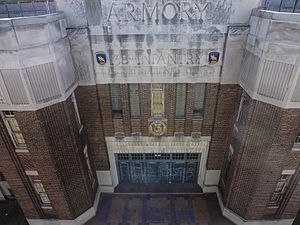 National Register of Historic Places listings in St. Louis south and west of downtown - Image: The Armory