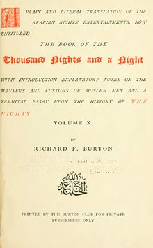 The Book of the Thousand Nights and a Night - Volume 10.djvu
