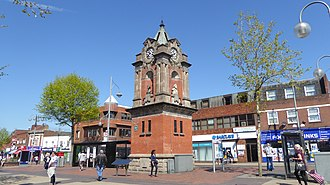 Bexleyheath - The Clocktower in the main shopping street