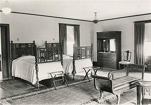 Mary Garrett - Miss Garrett's Bedroom in Bryn Mawr College, 1968