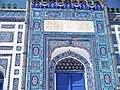 The Door of Shrine of Shah Abdul Latif Bhittai.jpg