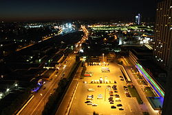 The East Moscow in Night.JPG