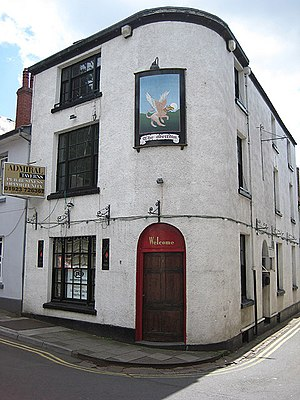 Whitecross Street, Monmouth - Image: The Griffin public house geograph.org.uk 867906