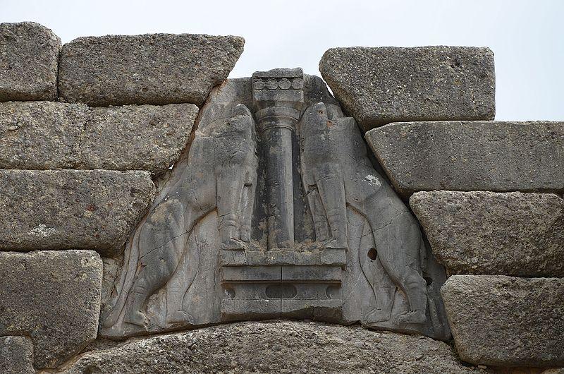 File:The Lion Gate, Mycenae (17187280925).jpg