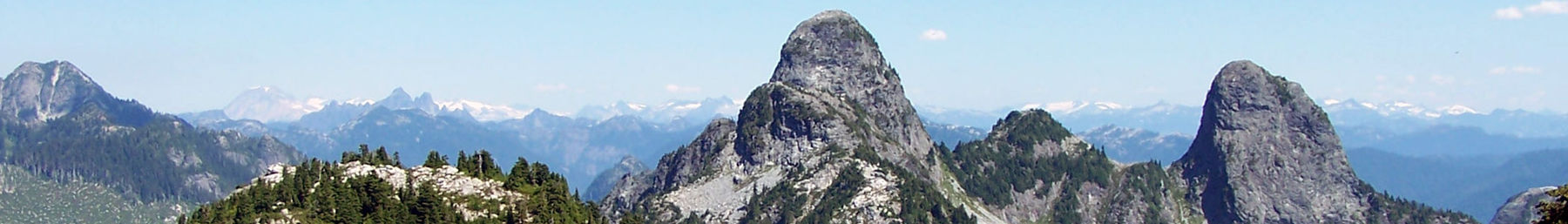 View of the Lions from the Howe Sound Crest Trail