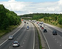 The M1 Motorway - geograph.org.uk - 490760.jpg