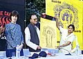 The Minister for Youth Affairs and Sports Shri Sunil Dutt inaugurating youth festival to launch national campaign violence against women in New Delhi on November 25, 2004.jpg