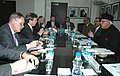 The Minister of Economy and Foreign Trade Luxembourg, Mr. Jeannot Krecke meeting the Union Minister of New and Renewable Energy, Dr. Farooq Abdullah, in New Delhi on January 11, 2010.jpg