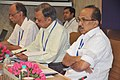 The Minister of State (Independent Charge) for Consumer Affairs, Food and Public Distribution, Professor K.V. Thomas reviews the storage and movement of food grains with Food Ministers' from main procuring states.jpg