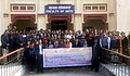 "The Ministry of Tourism launched the new skill initiative 'Paryatak Mitra training programme', on the occasion of ""National Youth Day"" to mark the Birth Anniversary of Swami Vivekanand, at Varanasi on January 12, 2016.jpg"