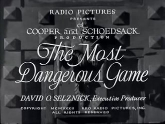 the most dangerous game  film    wikipediafile the most dangerous game      webm