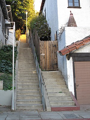 The Music Box - The stairs in 2009